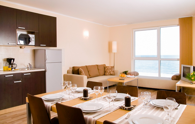 Obzor Beach Resort, Obzor, camera, apartament vedere la mare.jpg