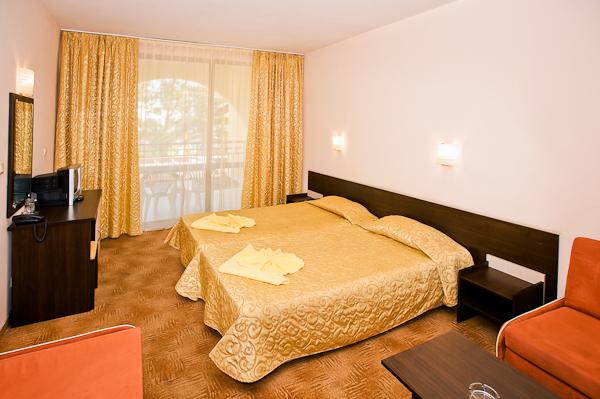 Sunny Beach, Hotel Yavor Palace, camera dubla, balcon.jpg