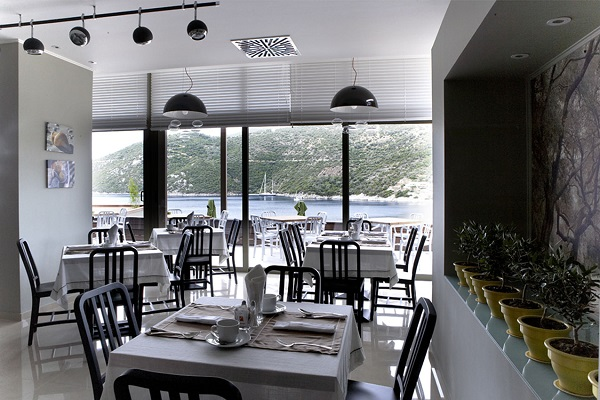 Lefkada, Hotel San Nicolas Resort, interior, restaurant.jpg