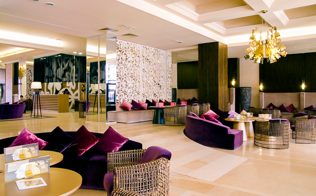 Sunny Beach, Hotel Barcelo Royal Beach, lobby.jpg