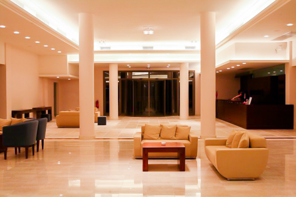 Lefkada, Hotel Porto Galini, lobby, receptie.jpg