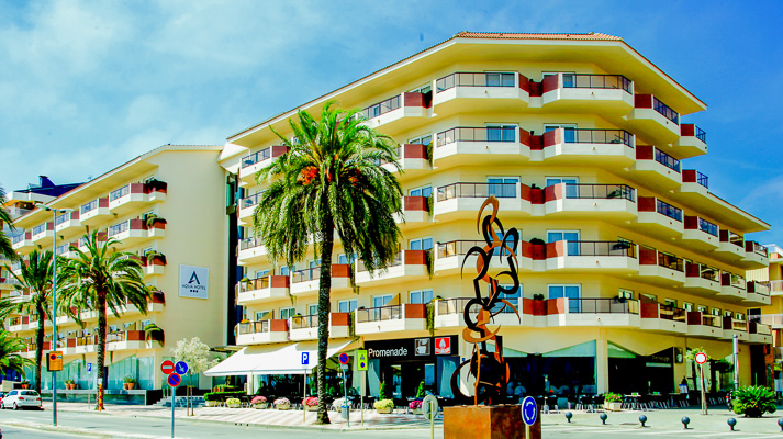 Costa Brava, Aqua Hotel Promenade.jpg