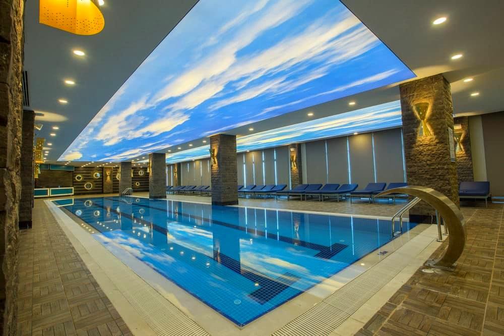 Belek, Sensitive Premium Resort & Spa, piscina interioara.jpg