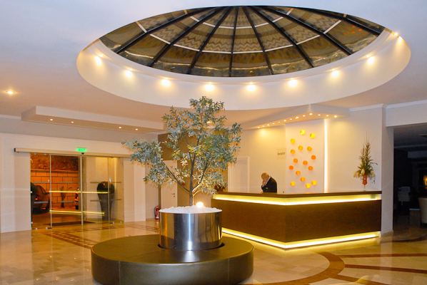 Corfu, Hotel Aquis Pelekas Beach, receptie.jpg