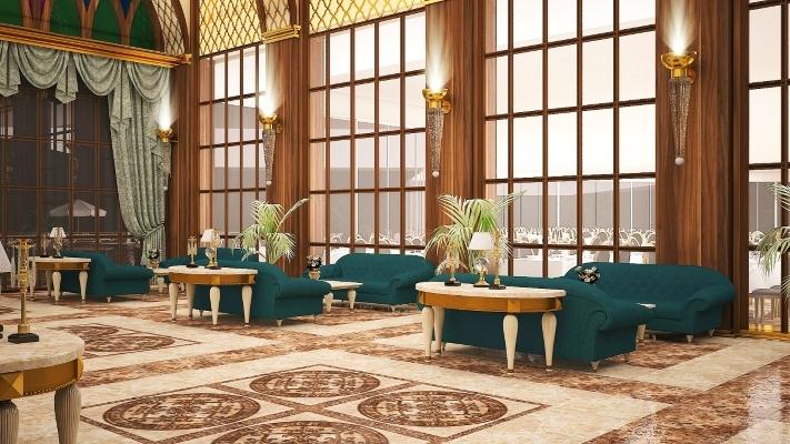 Alanya, Hotel The Lumos Deluxe Resort, lobby.jpg
