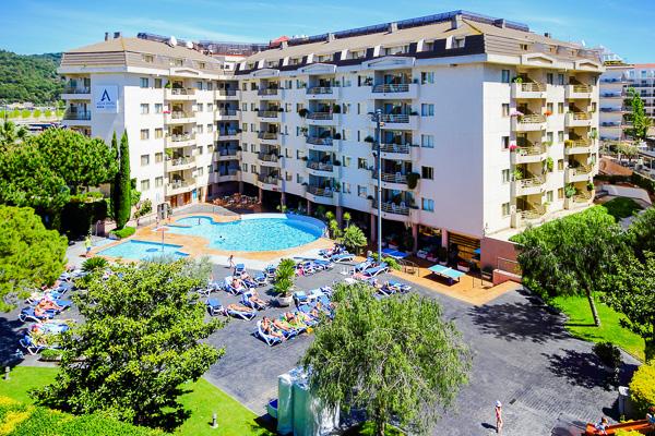 Costa Brava, Aqua Hotel Montagut, panorama.jpg