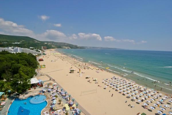 Albena, Hotel Sandy Beach, plaja.jpg