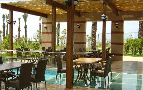 Hotel Miracle Resort restaurant.JPG
