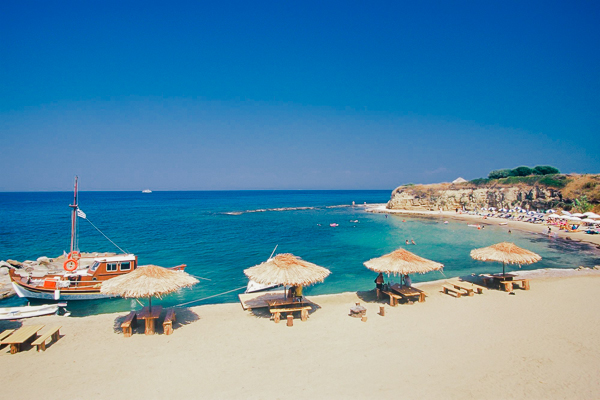 Zakynthos, Hotel Sunrise, plaja.jpg