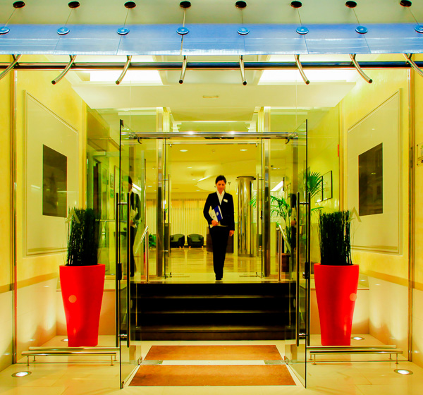 Costa Brava, Aqua Hotel Bertran, intrare.jpg