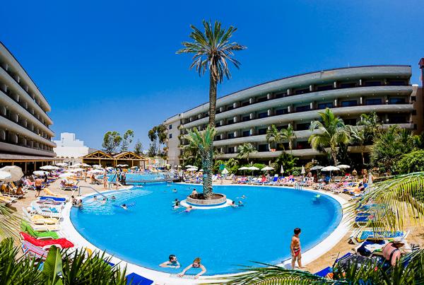 Tenerife, Hotel Fanabe Costa Sur, piscina exterioara.jpg