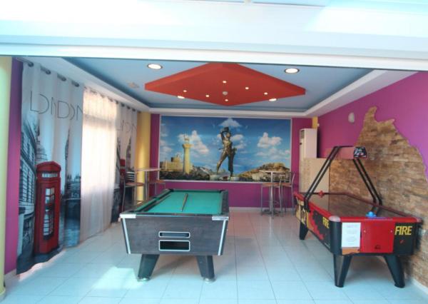 Rodos, Hotel Grecian Fantasia Resort, biliard.jpg