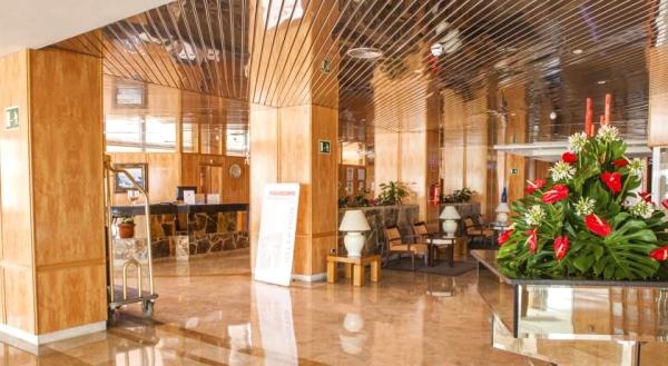 Tenerife, Hotel Aguamarina Golf, receptie, lobby.jpg