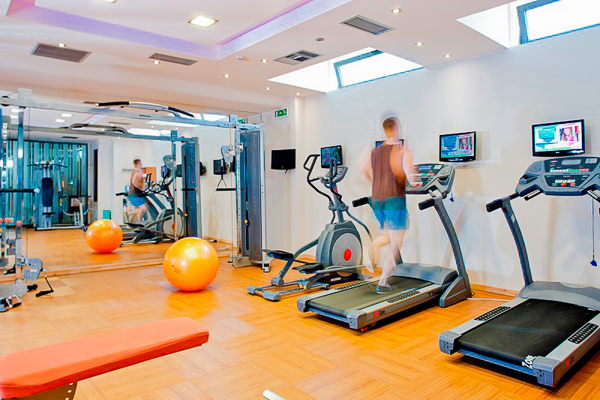 Zakynthos, Hotel Lesante, sala de fitness.jpg