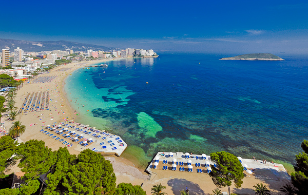 Mallorca, Hotel Samos, plaja.jpg