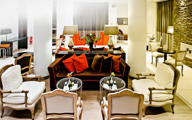 Platamonas, Hotel Olympus Thea, lobby.jpg