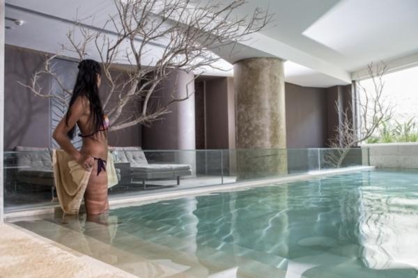 Kos, Hotel Aqua Blue Lampi, piscina interioara.jpg