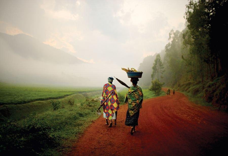 Intalnirea femeii din Rwandan