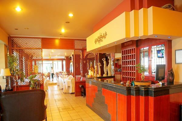 Olympic Beach, Hotel Platon Beach, interior, receptie.jpg