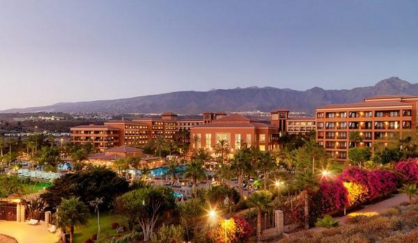 H10 Costa Adeje Palace, Tenerife, exterior, hotel, gradina, panorama.jpg