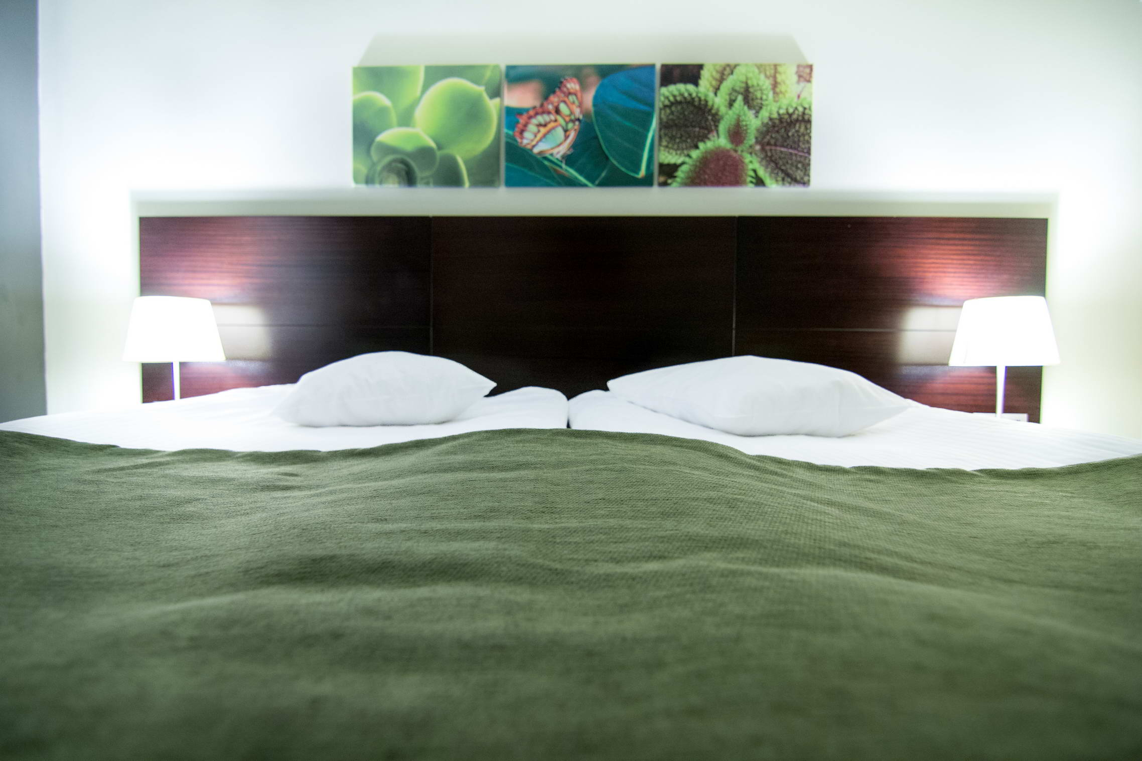 Standard Twin Room with panoramic view