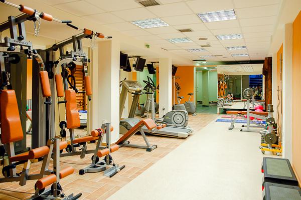 Platamonas, Hotel Kronos, sala fitness.jpg