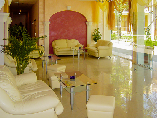 Sunny Beach, Hotel Royal Central, lobby.jpg