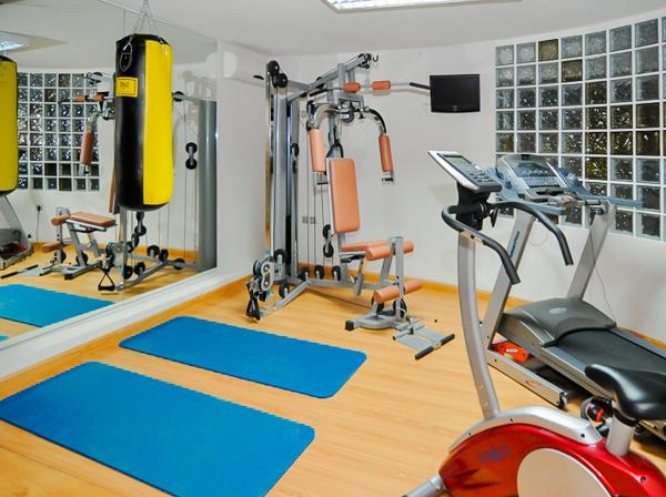 Thassos, Hotel Thalassies Nouveau, sala de fitness.jpg