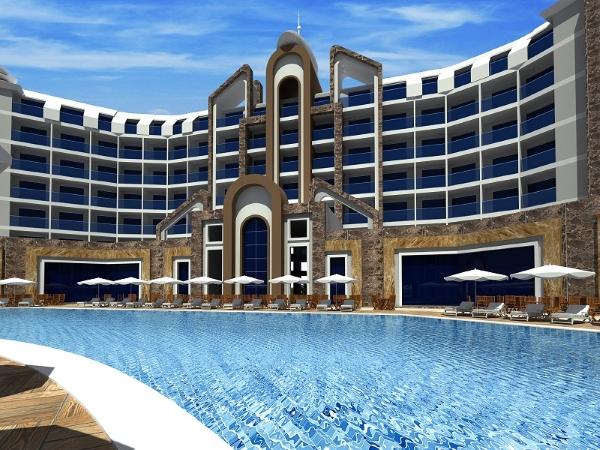 Alanya, Hotel The Lumos Deluxe Resort, piscina exterioara.jpg