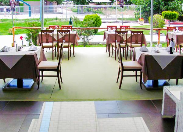 Platamonas, Hotel Sun Beach, exterior, restaurant.jpg