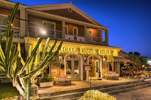 Corfu, Hotel Molfetta Beach, intrare.jpg