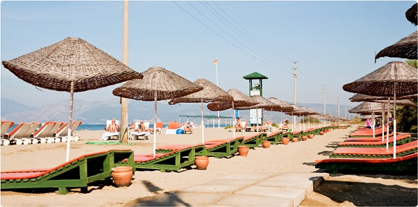 Kusadasi, Hotel Richmond Ephesus, exterior, plaja privata.jpg