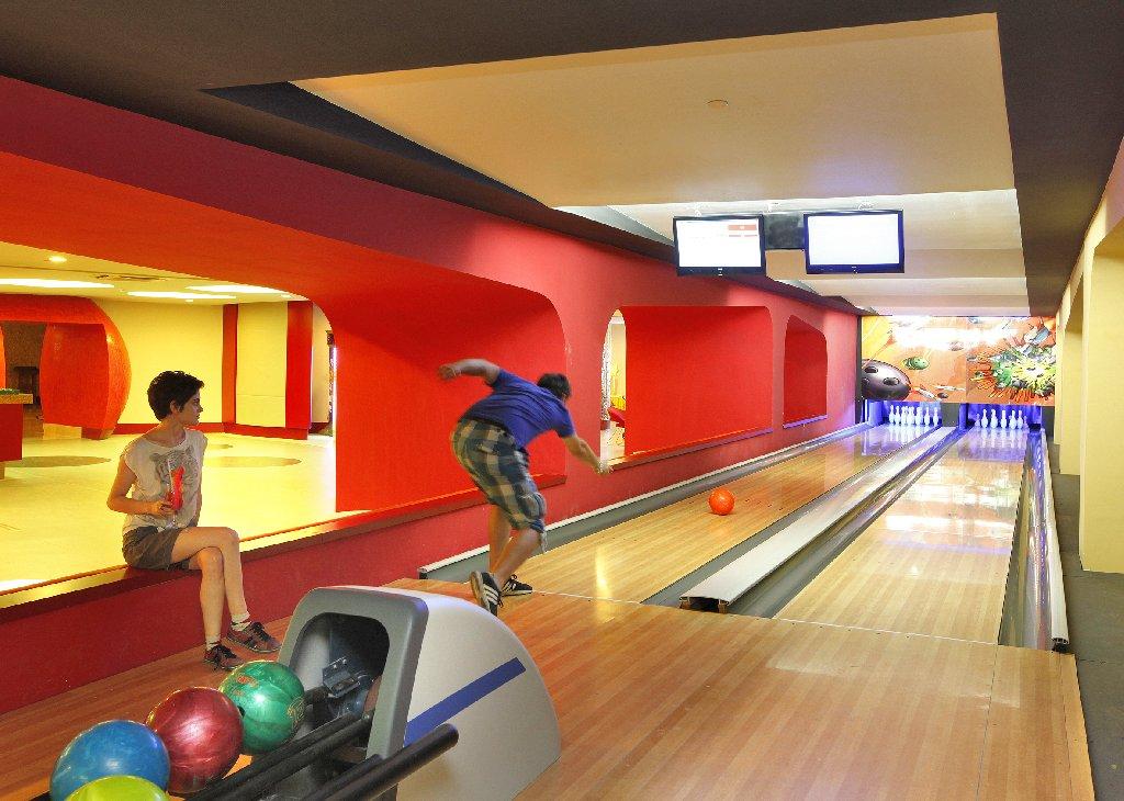 Hotel Royal Alhambra Palace pista de bowling
