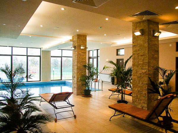 Danesti, Hotel Secret Garden, piscina interioara.jpg