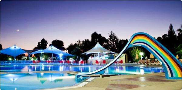 Kusadasi, Hotel Richmond Ephesus, exterior, piscina, tobogan.jpg