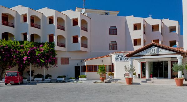 Zakynthos, Hotel Caravel Zante, intrare.jpg