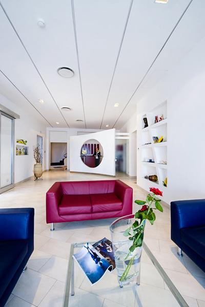 Sorrento, Hotel Giosue a Mare, lobby, receptie.jpg