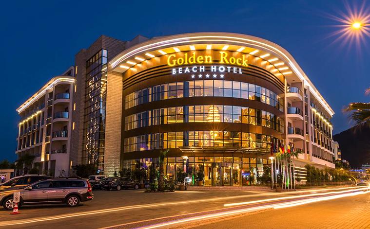 Golden Rock Beach
